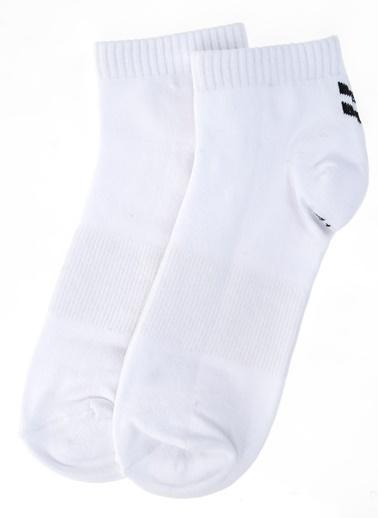 Hummel Spor Çorap|2'li Çorap Beyaz